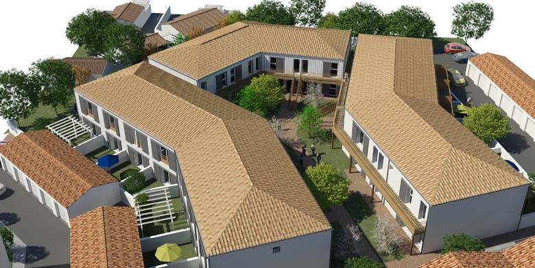 appartement neuf dolus d 39 oleron cap ouest akera description. Black Bedroom Furniture Sets. Home Design Ideas
